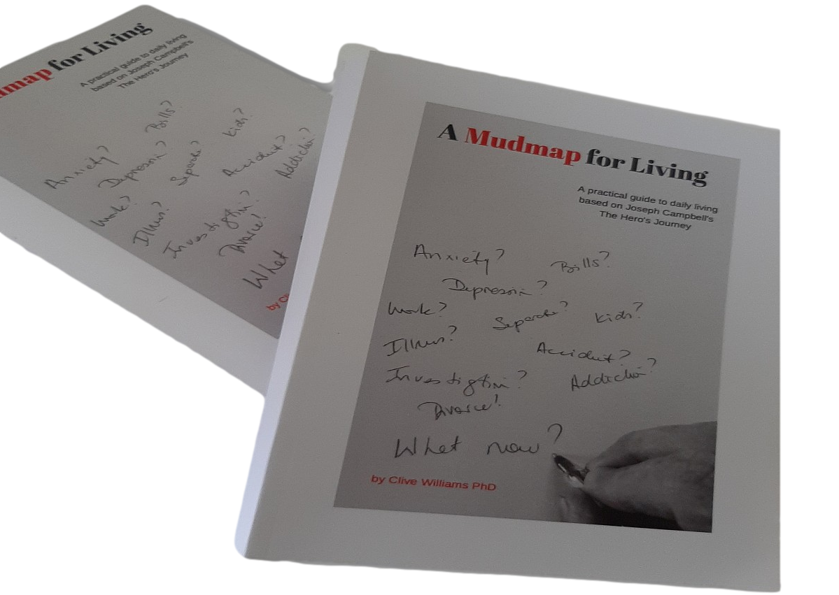 A Mudmap for Living the Book Author Dr Clive Williams
